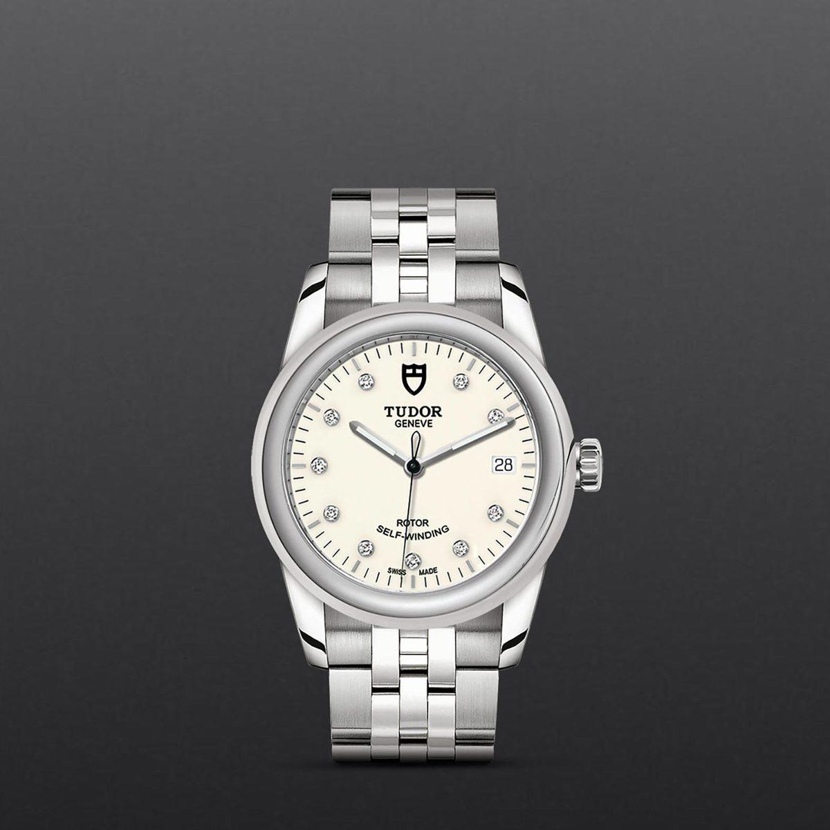 Tudor Glamour Date M55000-0104