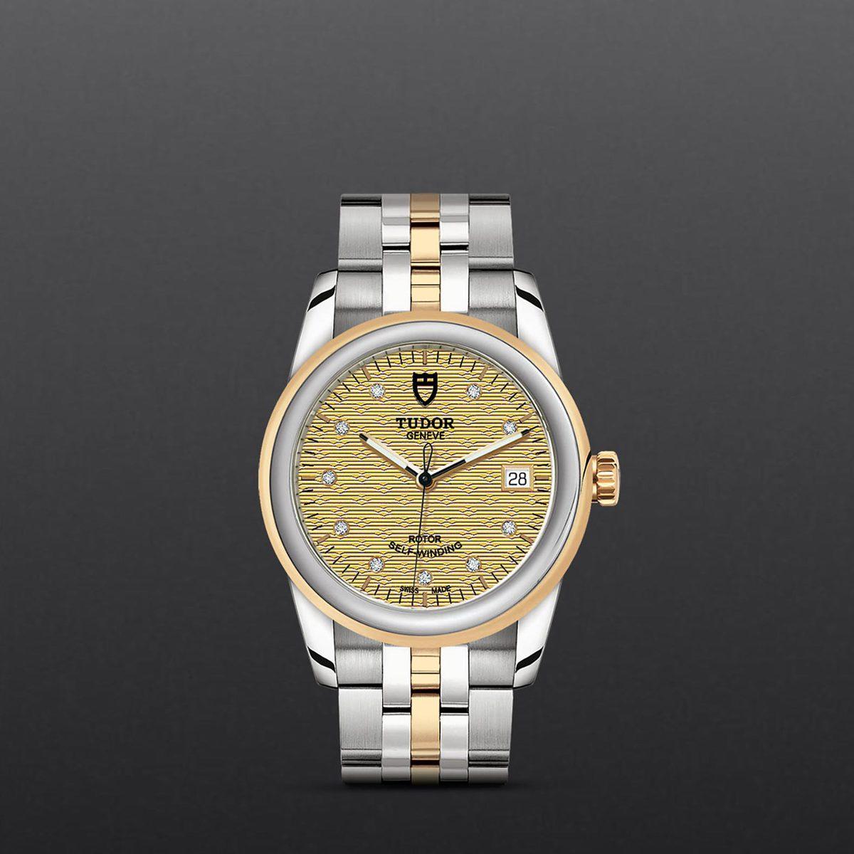 Tudor Glamour Date M55003-0004