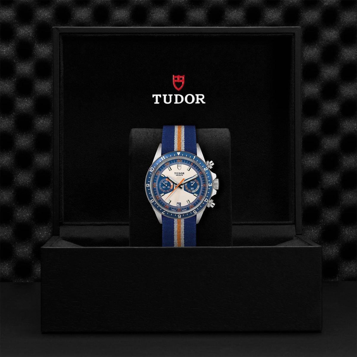 Tudor Heritage Chrono blue M70330B-0003